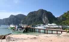 Ko Phi Phi jak z obrazka