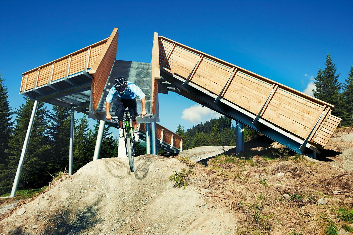 Downhill w Austrii