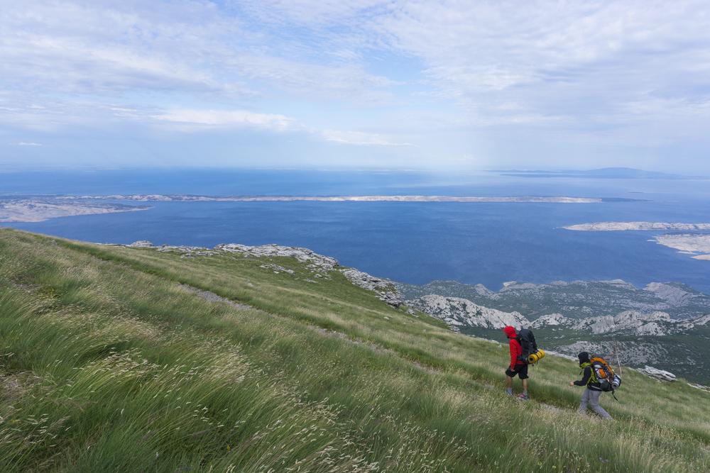 Trekking w Chorwacji jest dobrym sposobem na uniknięcie tłumów