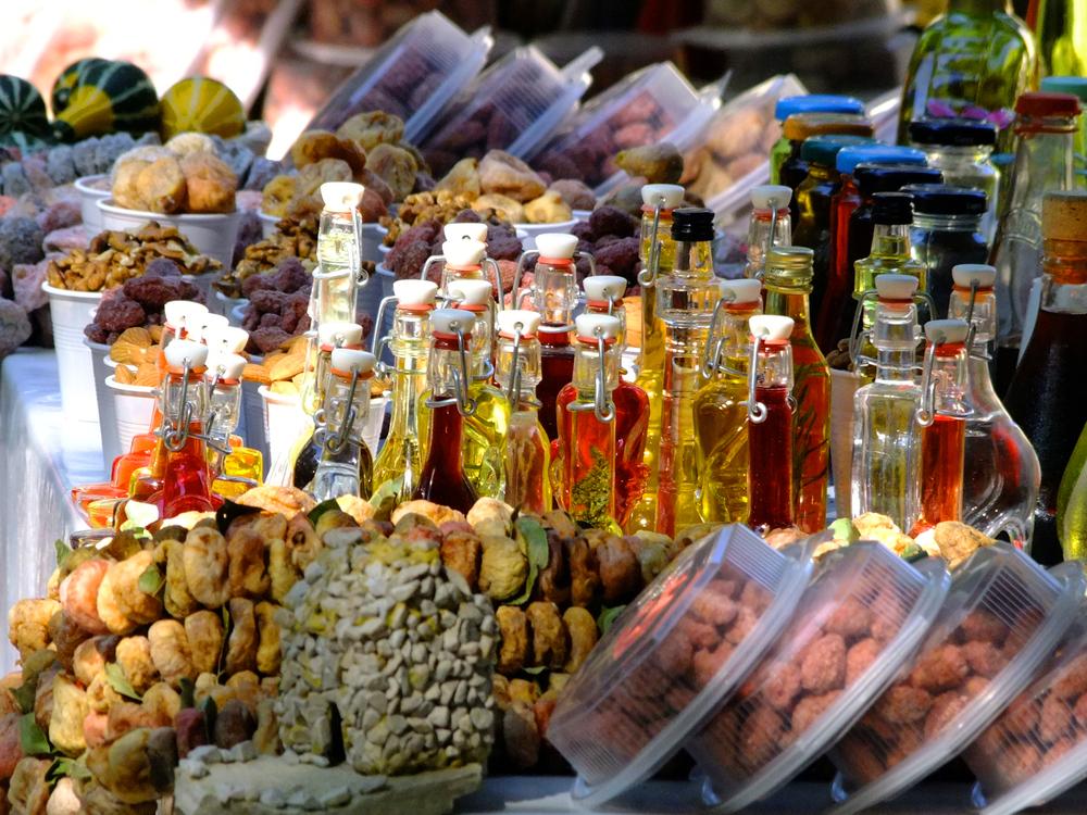 Chorwacja, jedzenie na lokalnym bazarze